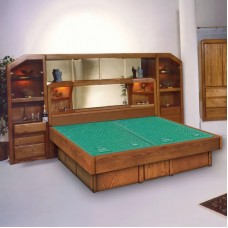 Marathon Tall Wall Unit Waterbed & Casepieces Available in W. King, E. King and Queen