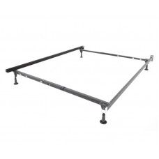 Insta-Lock I-410XLW Twin/Full/Queen Deluxe Bed Frame with Glides