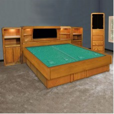 Marathon Mid-Wall Unit Waterbed & Casepieces Available in W. King, E. King, and Queen